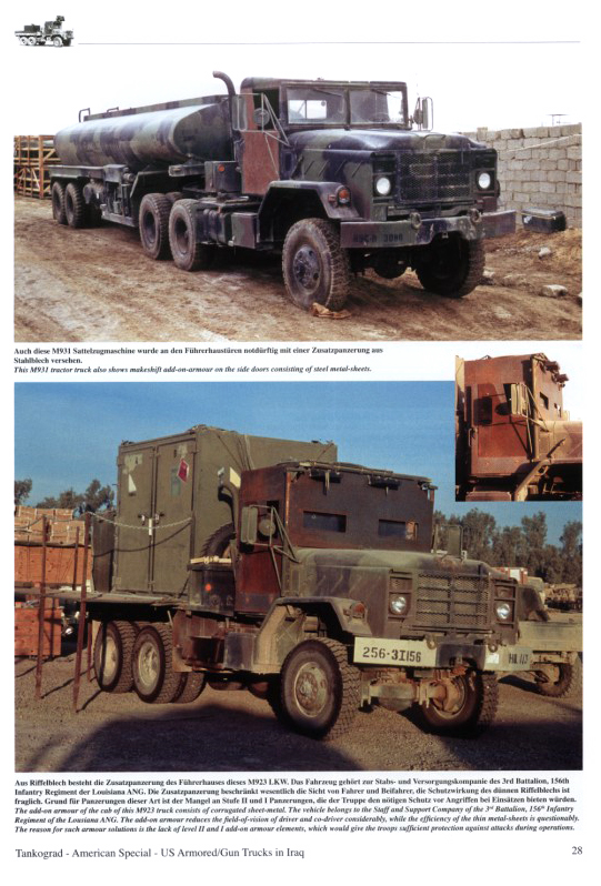 Armoured/Gun Trucks of the US Army in Iraq