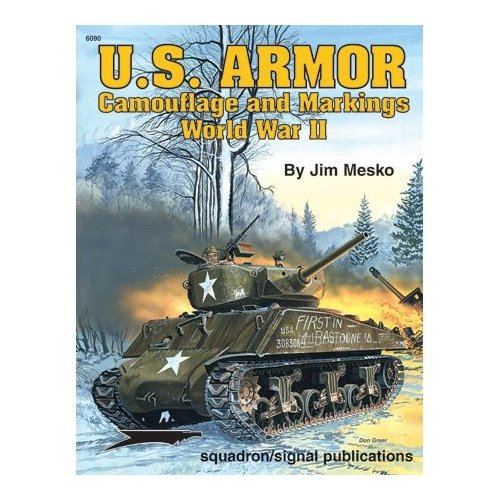 U.S. Armor Camouflage and Markings WWII