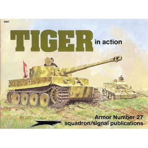 Tiger in Action - Armor No. 27