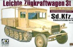 1/35 SDKFZ 11 Late-Wood Cab